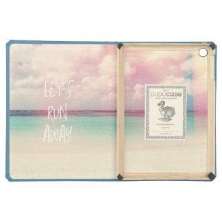 Let's Run Away Wanderlust Case For iPad Air