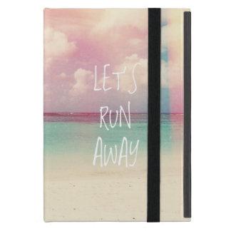 Let's Run Away Wanderlust iPad Mini Cases