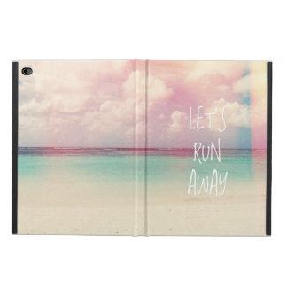 Let's Run Away Wanderlust Powis iPad Air 2 Case