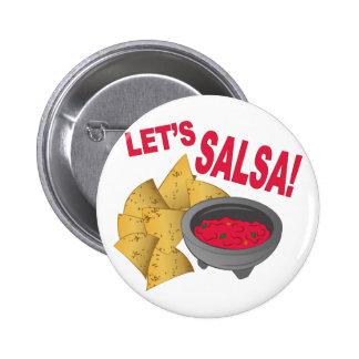 Lets Salsa Button