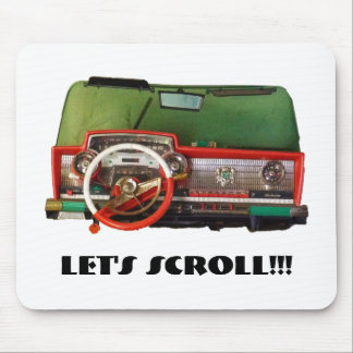 Let's Scroll!!! Mouse Pad