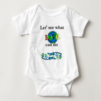 Let's See what Love Can Do Baby Bodysuit
