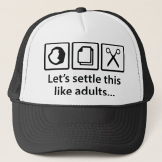 Let's Settle This Like Adults... Trucker Hat