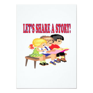 Lets Share A Story Card