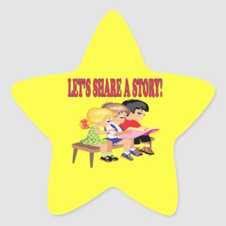 Lets Share A Story Sticker