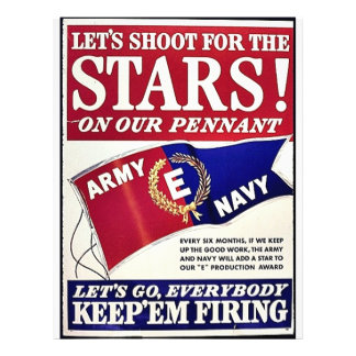 Let's Shoot For The Stars On Our Pennant Flyers
