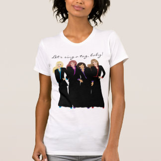 Let's Sing a Tag Baby T-Shirt