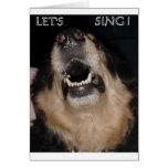 LET'S SING ! CARD