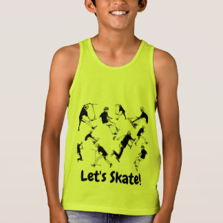 Let's Skate! - Stunt Scooter Fun Tank Top
