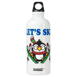 Lets Ski 3 Water Bottle