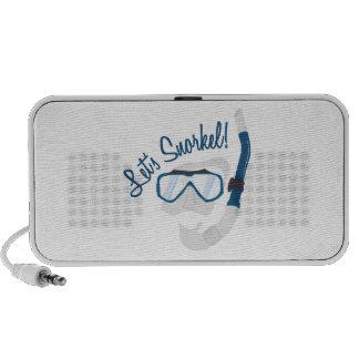 Let's Snorkel! Travel Speaker