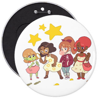 Let's Solve The Mystery Pinback Button