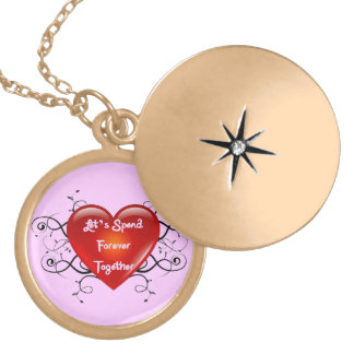 Let's Spend Forever Together Locket