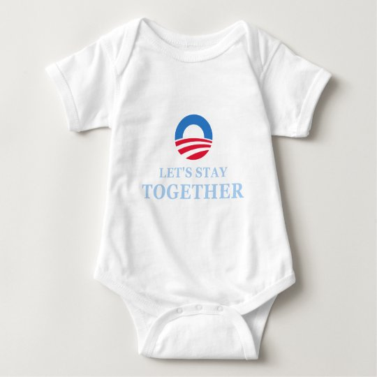 Let's Stay Together Baby Bodysuit