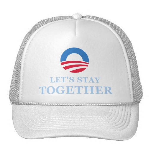 Let's Stay Together Trucker Hat