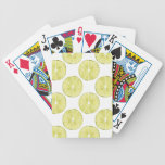 Let's Taco About It | Lime Pattern Bicycle Playing Cards