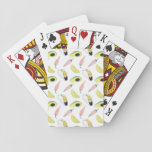 Let's Taco About Love | Taco Element Circle Playing Cards