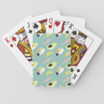 Let's Taco About Love | Taco Element Pattern Playing Cards