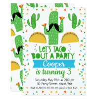 taco invitations zazzle