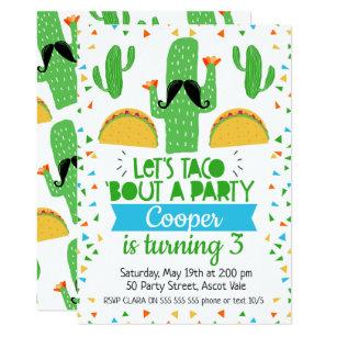 lets party invitations zazzle