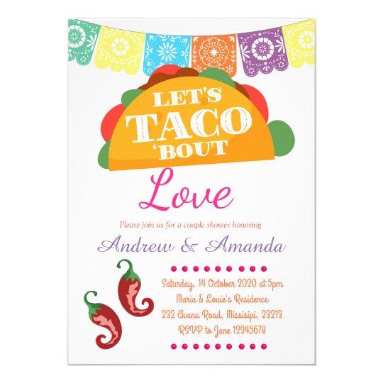let s taco bout a party mexican invitation zazzle com