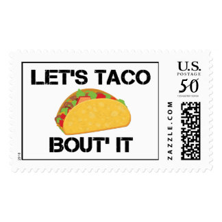Let's Taco Bout It Postage