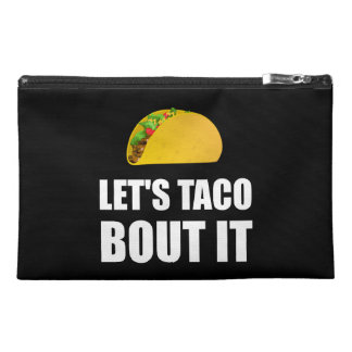 Lets Taco Bout It Travel Accessory Bag