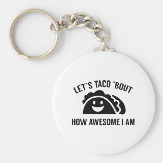 Let's Taco 'Bout Keychain