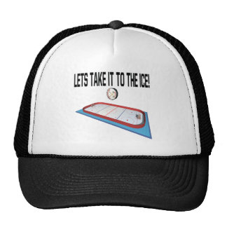 Lets Take It To The Ice Trucker Hat