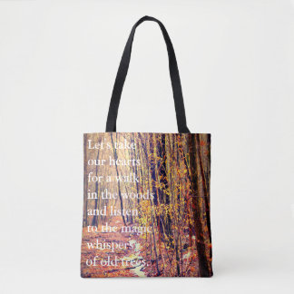 Let's Take Our Hearts.... Tote Bag