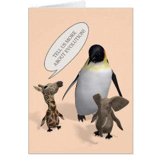 Let's Talk About Evolution Card