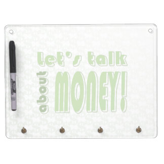 Let's talk about money dry erase board