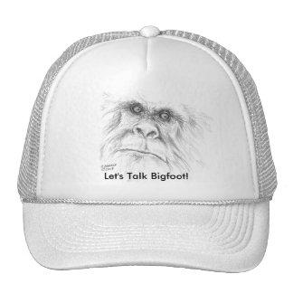 Let's Talk Bigfoot Cap Trucker Hat