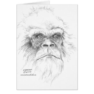 Let's Talk Bigfoot Greeting Cards