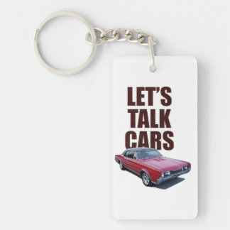 Let's Talk Cars 442 Keychain