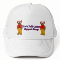 Let's talk COPD Support Group Trucker Hat