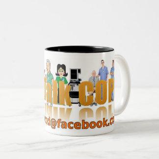 Let's Talk COPD Two-Tone Coffee Mug