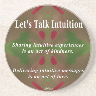 Let's Talk Intuition Coaster