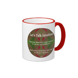 Let's Talk Intuition Cup Coffee Mug