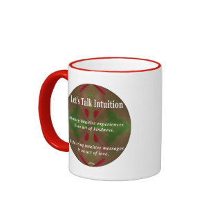 Let's Talk Intuition Cup Ringer Coffee Mug