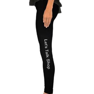 Let's Talk Shop Legging Tights