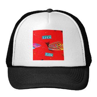 Let's Talk Trucker Hat