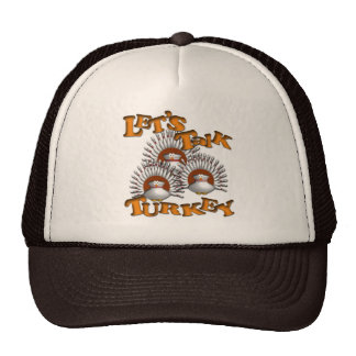 Let's Talk Turkey Trucker Hat