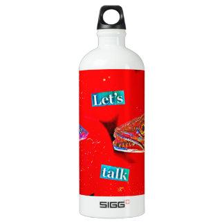 Let's Talk Water Bottle