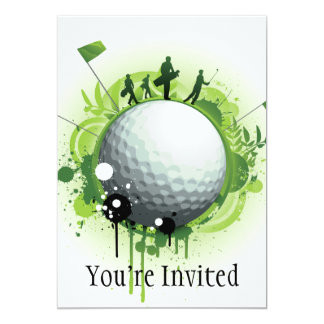 Let's Tee Off For Golf Invitations