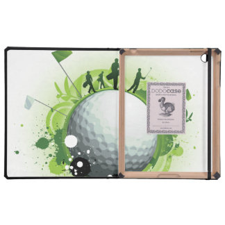 Let's Tee Off For Golf iPad Case