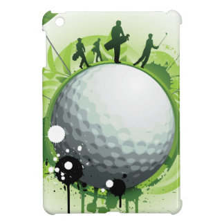 Let's Tee Off For Golf iPad Mini Cover