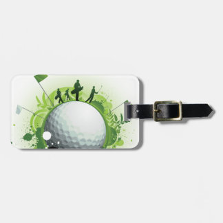 Let's Tee Off For Golf Luggage Tag