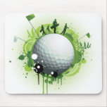Let's Tee Off For Golf Mouse Pad