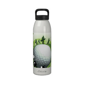 Let's Tee Off For Golf Reusable Water Bottles